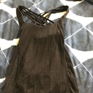 Lululemon tank and sports bra 2in 1